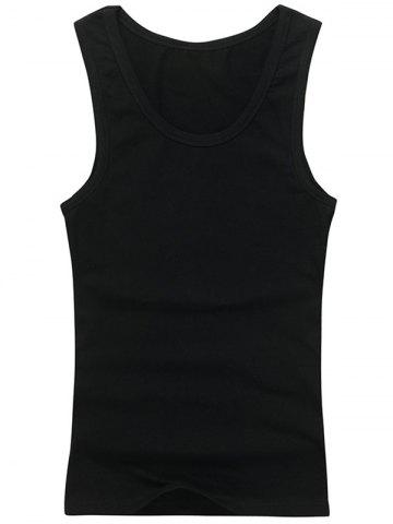 Store Plain Slim Fit Tank Top