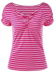 Scrunch Stripe T-shirt