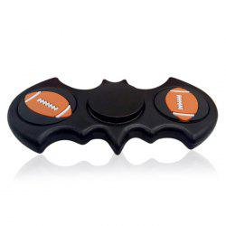 Anti Stress  Rugby Pattern Batwing Fidget Spinner