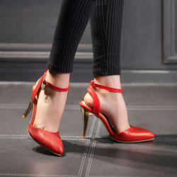 Pointed Toe Slingback Pumps