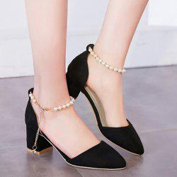 Beading Two Piece Pumps