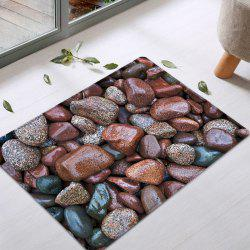 Sea Stone Pattern Anti-skid Water Absorption Area Rug