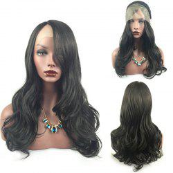 Long Layered Wavy Side Part Lace Front Synthetic Wig