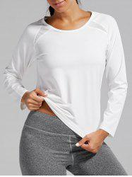 Open Back Quick-dry Sports T-shirt