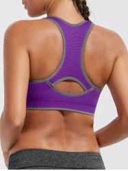 Paded Racerback High Impact Gym Bra