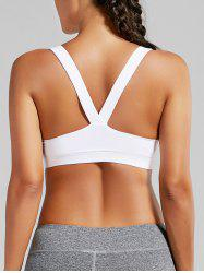 Racer Back Padded Workout Bra Top