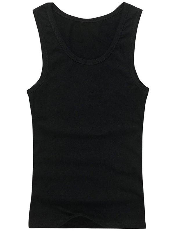 e0c321c745fa15 23% OFF   2019 Plain Slim Fit Tank Top