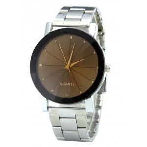 Rhinestone Steel Strap Analog Quartz Watch