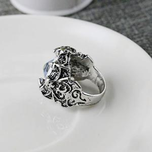 Stainless Steel Devil Eye Shaped Ring -