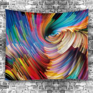 Colorful Vortex Wall Art Hanging Tapestry -