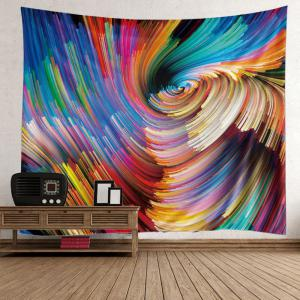 Colorful Vortex Wall Art Hanging Tapestry