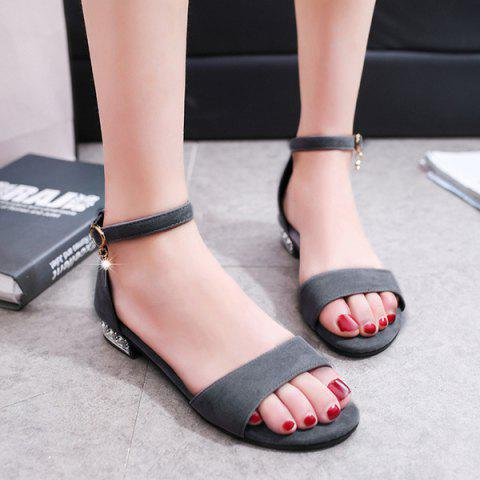 Best Flat Heel Ankle Strap Sandals
