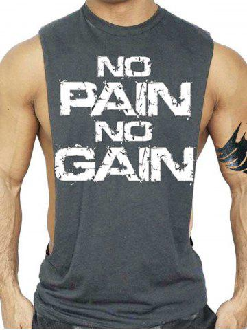 Latest No Pain No Gain Workout Tank Top