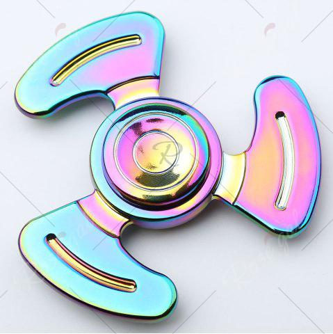 Latest Anti-stress Toy Tri-bar Feet Fidget Metal Spinner - COLORMIX  Mobile