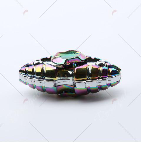 Chic Pupa Shape Colorful Fidget Metal Spinner Stress Reliver - COLORMIX  Mobile