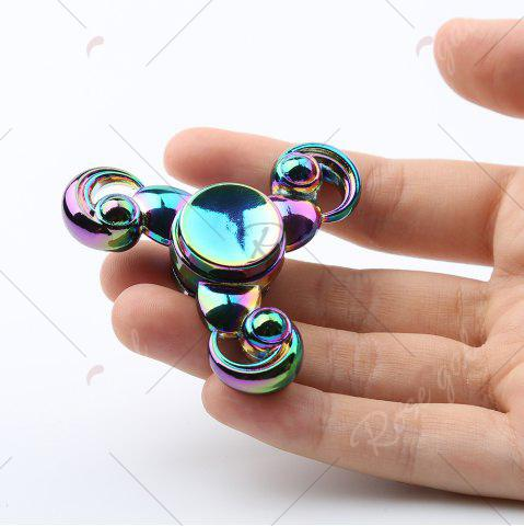 Outfit Cresent Tri-bar Colorful Fidget Metal Spinner Stress Reliver - COLORMIX  Mobile