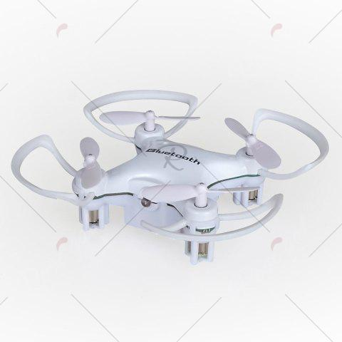 Store Phone Control Bluetooth Night Light RC Mini Quadcopter - WHITE  Mobile