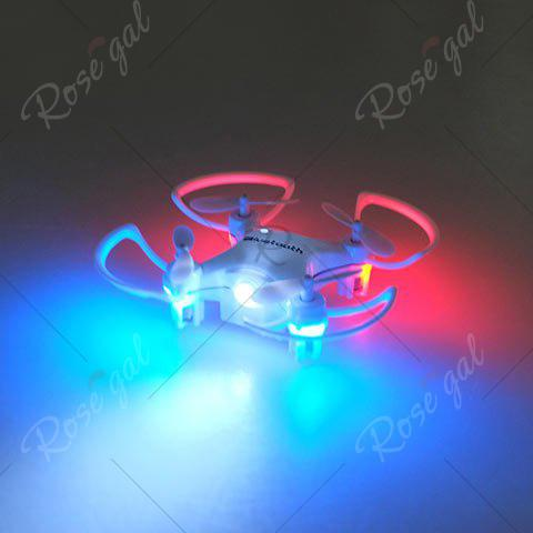 Cheap Phone Control Bluetooth Night Light RC Mini Quadcopter - WHITE  Mobile