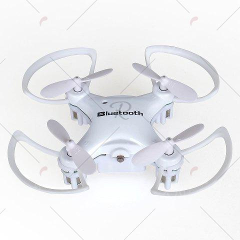 Online Phone Control Bluetooth Night Light RC Mini Quadcopter - WHITE  Mobile