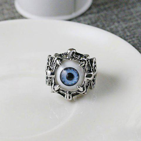 Chic Stainless Steel Devil Eye Shaped Ring
