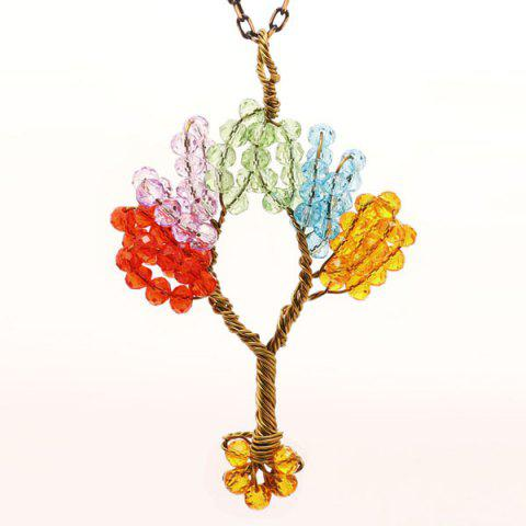 Tree of Life DIY Beaded Pendant Necklace - Colormix