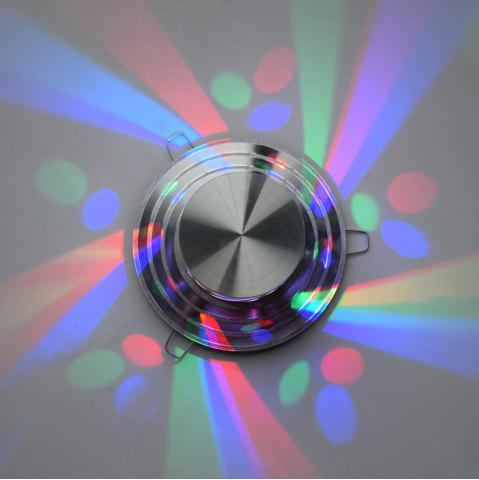 Discount LED Colorful Decorative Wall Light - SILVER  Mobile