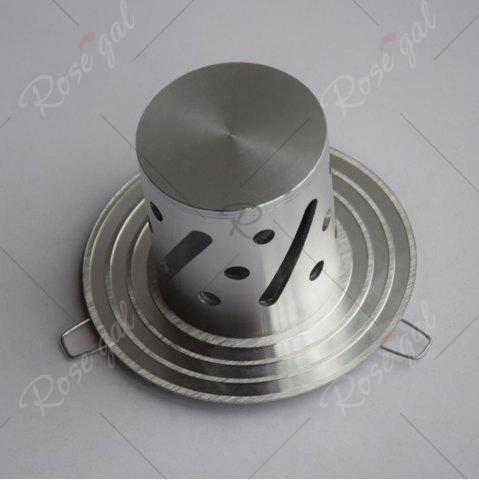 New LED Colorful Decorative Wall Light - SILVER  Mobile