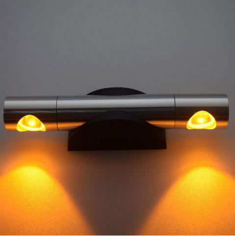 Outfit LED Wall Light for Bedroom - YELLOW  Mobile