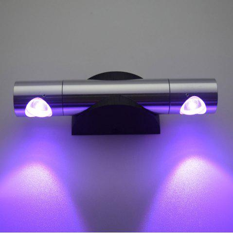 Discount LED Wall Light for Bedroom - PURPLE  Mobile