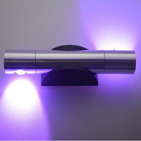 Chic LED Wall Light for Bedroom - PURPLE  Mobile