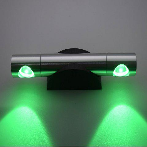 Affordable LED Wall Light for Bedroom - GREEN  Mobile