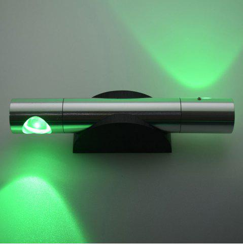 Discount LED Wall Light for Bedroom - GREEN  Mobile