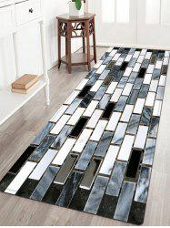 Ceramic Tile Pattern Anti-skid Water Absorption Area Rug