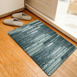 Vintage Woodgrain Pattern Anti-skid Water Absorption Area Rug