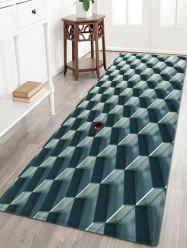 3D Geometric Pattern Water Absorption Anti-skid Area Rug
