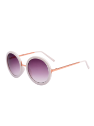Round Metal Frame UV Protection Sunglasses and Box
