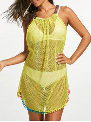 Fishnet Cover Up Dress