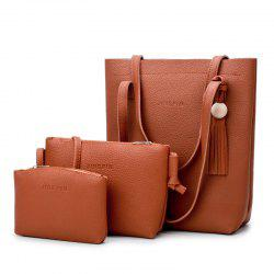 Tassel 3 Pieces Handbag Set -