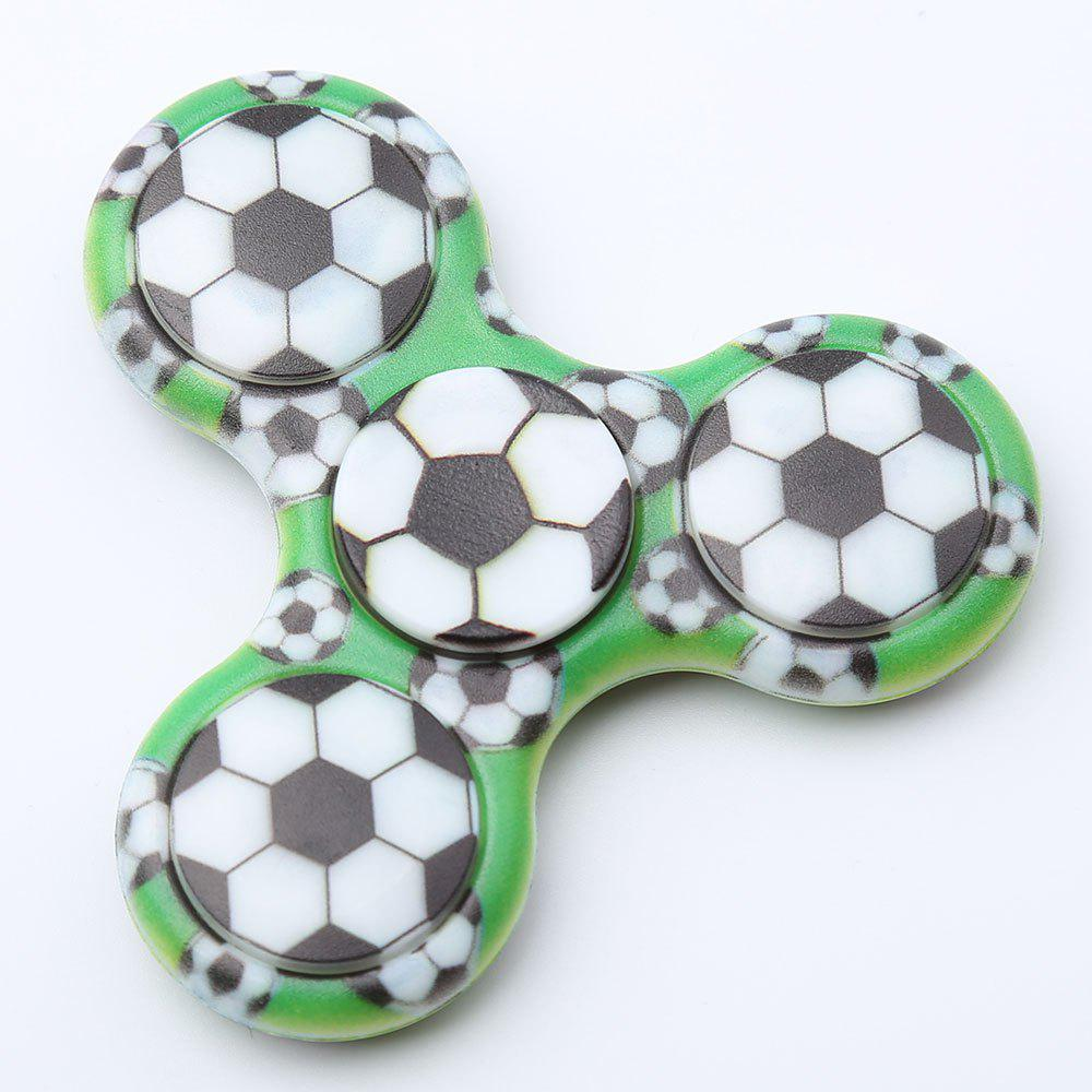 Spinner Rotatif en Plastique Motif Football