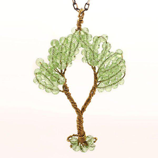 Hot Tree of Life DIY Beaded Pendant Necklace