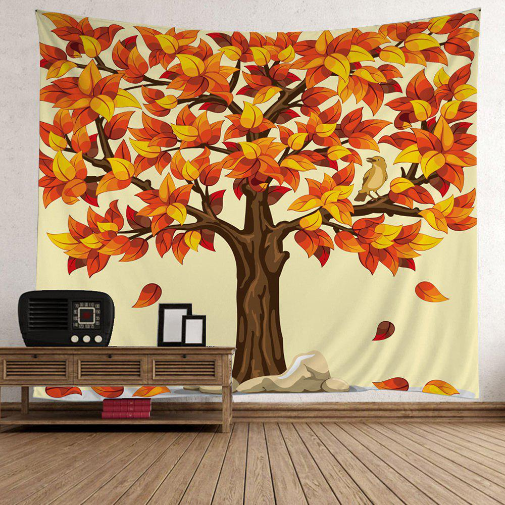 New Home Decor Tree Falling Leaves Tapestry