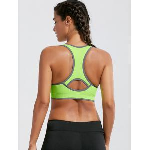 Paded Racerback High Impact Gym Bra -