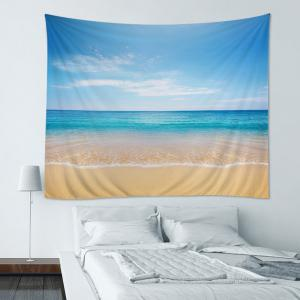 Wall Hanging Art Decoration Beach Sea Print Tapestry - Oasis - W79 Inch*l59 Inch