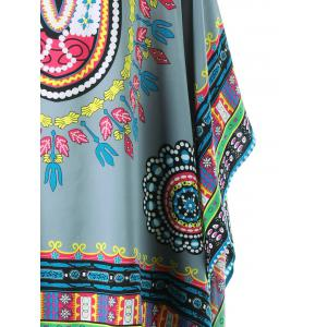 Fringed Tribal Butterfly Sleeve Cover-up -