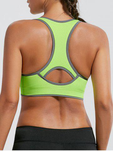 Shops Paded Racerback High Impact Gym Bra