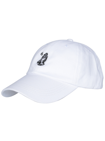 Best Sunscreen Palms Number Embroidery Baseball Hat - ALL WHITE  Mobile