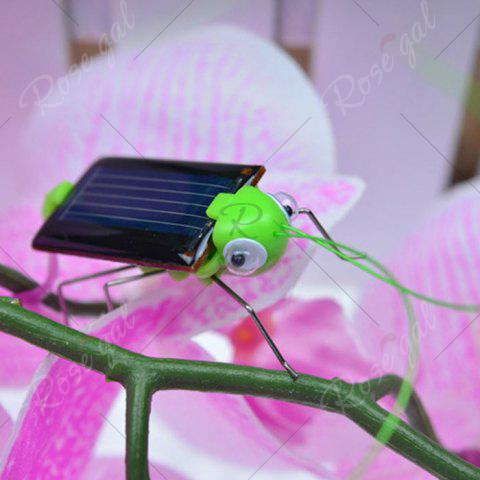 Outfits Solar Powered Grasshopper Educational Toy - GREEN  Mobile