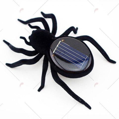 Outfits Frightened Kit Solar Powered Spider - BLACK  Mobile