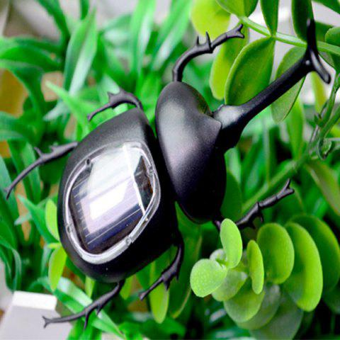 New Creative Toy Solar Unicorn Beetle - BLACK  Mobile