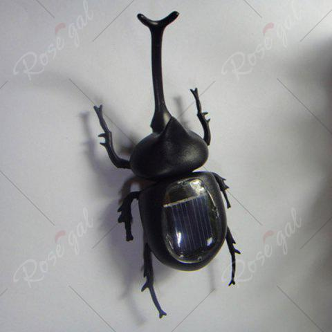 Best Creative Toy Solar Unicorn Beetle - BLACK  Mobile